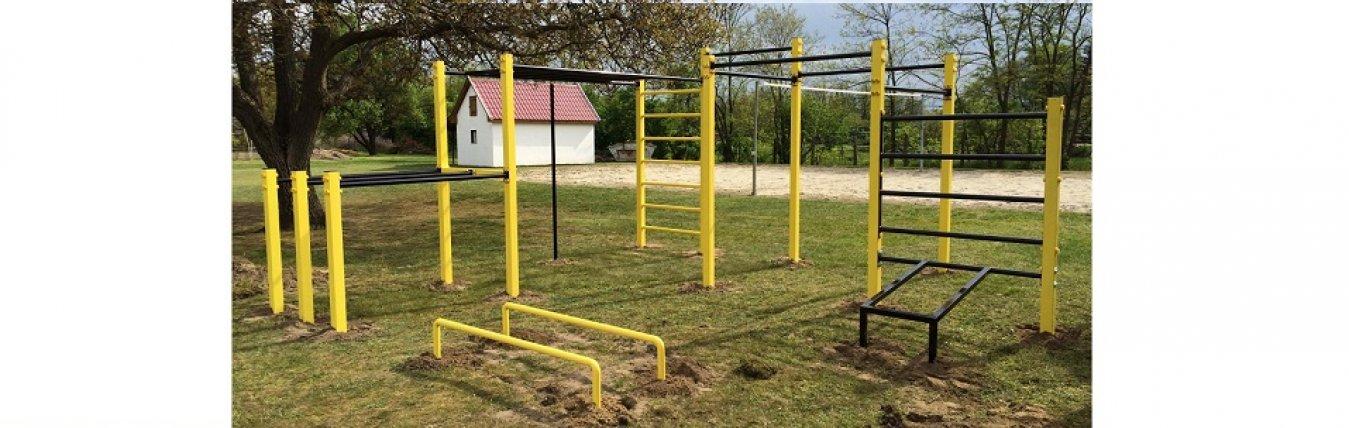 Városföldi utca fitness park